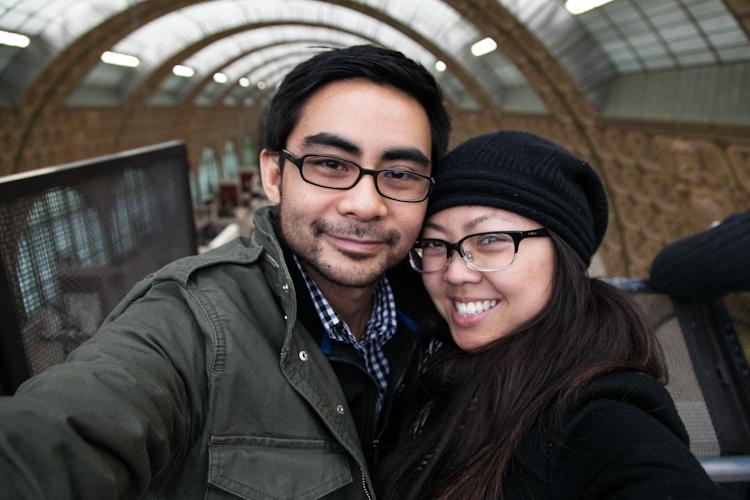 Tony & I at Musée D'Orsay