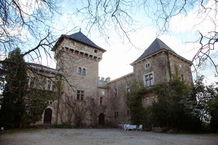 Le Solier, Chateau in the hills