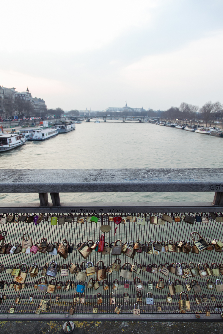 Pont des Arts overlooking the Seine