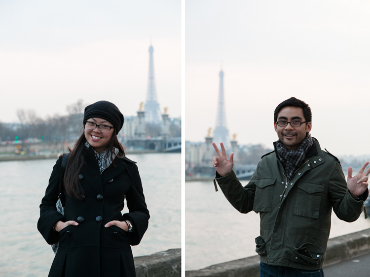 Tourists in Paris!