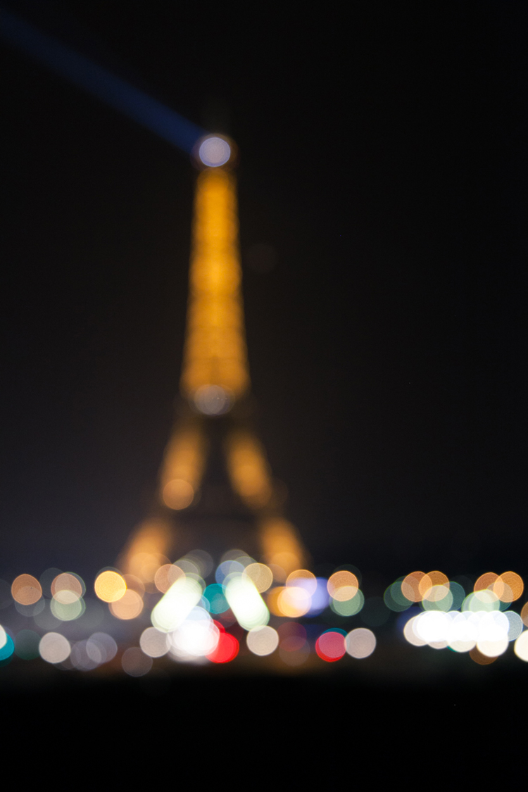 Eiffel Tower Bokeh