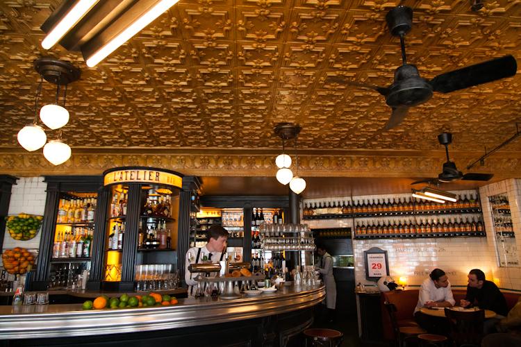 Café L'Atelier in Montparnasse