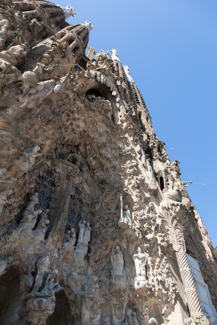 Nativity Facade at Sagrada Familia