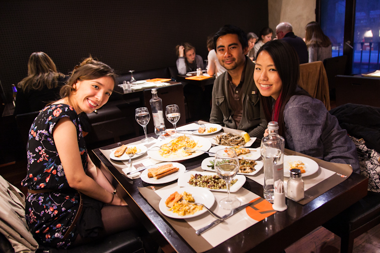 Dining at La Flauta
