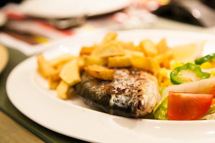 Spanish fried fish dish