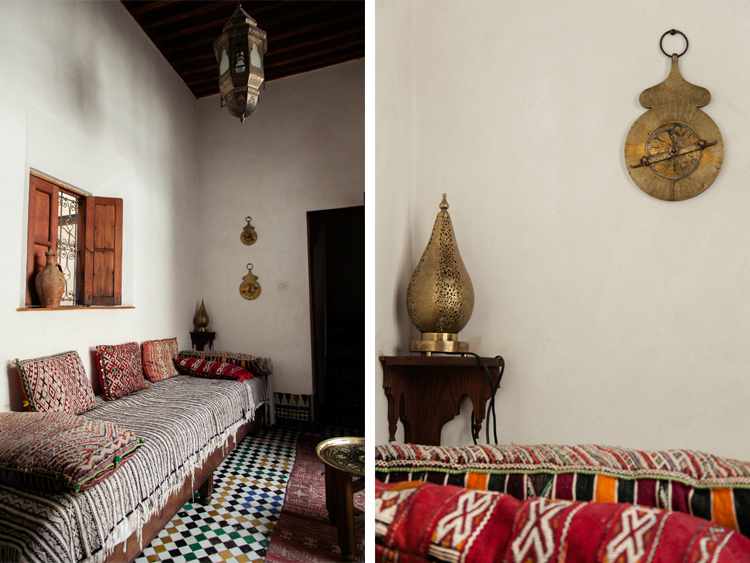 Moroccan Salon at Dar El Menia