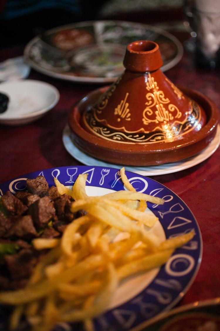 Tagine dish in Fez, Morocco