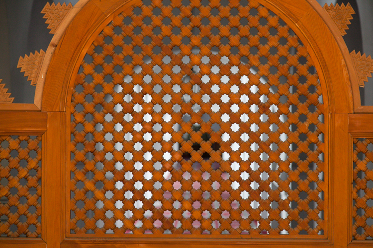 Screened door at University of al-Karaouine