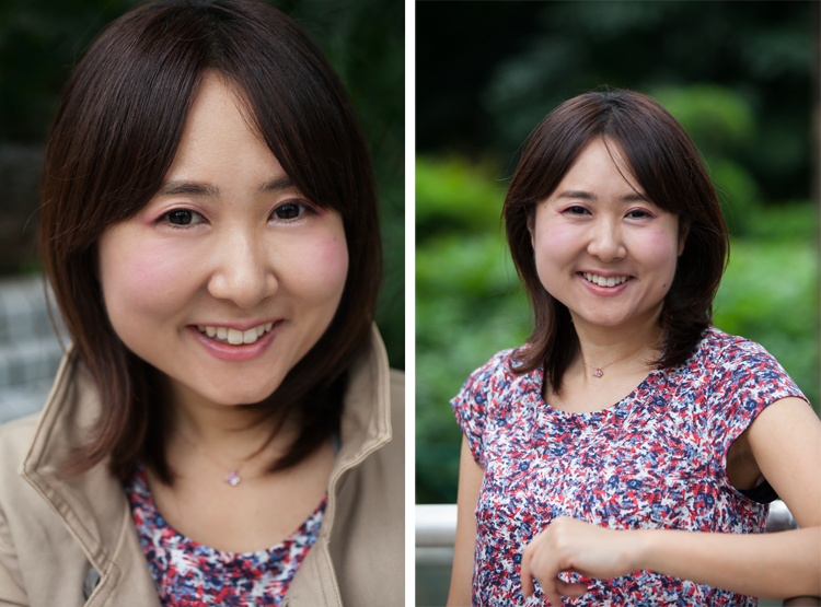 Outdoor Portraits in Hong Kong Park