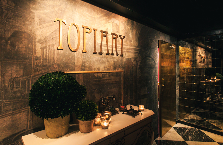 Bar Entry Way • Interior Design for Topiary HK