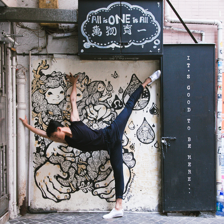 Strength • Sean Shih for Lululemon's #choosehongkong