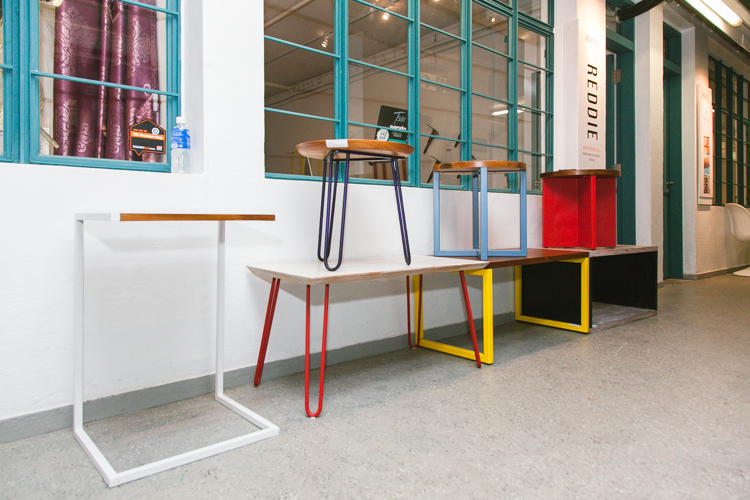 REDDIE furniture at their PMQ Pop-Up