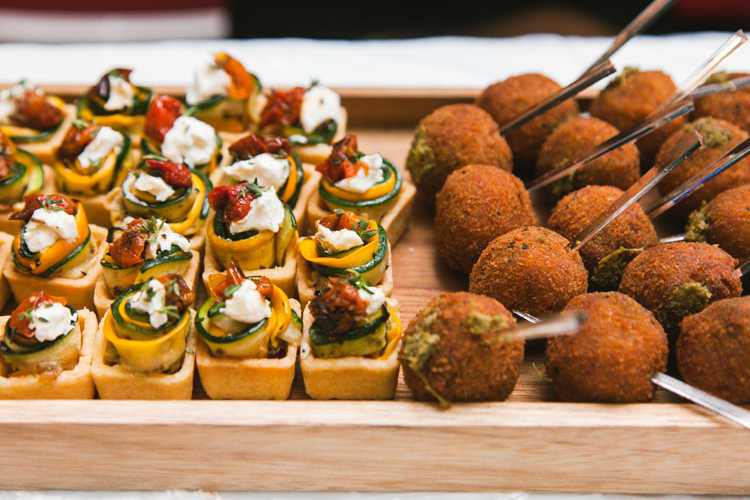 Event details – canapé at REDDIE launch party