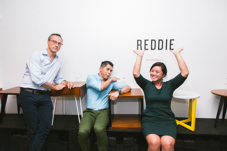 Fun photos at REDDIE Launch Party