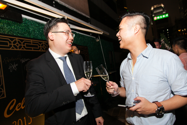 Mingling • Drinks • Hong Kong Event Photographer