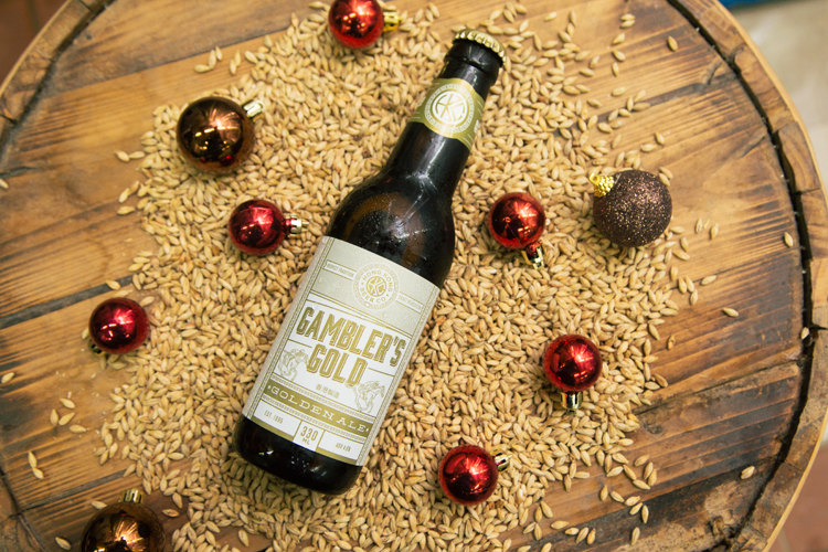 Hong Kong Beer Company's Gambler's Gold • Christmas photoshoot by Tracy Wong