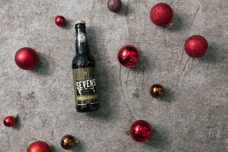 Sevens beer named after Rugby Sevens, Hong Kong Beer Company • Christmas themed photoshoot by Tracy Wong