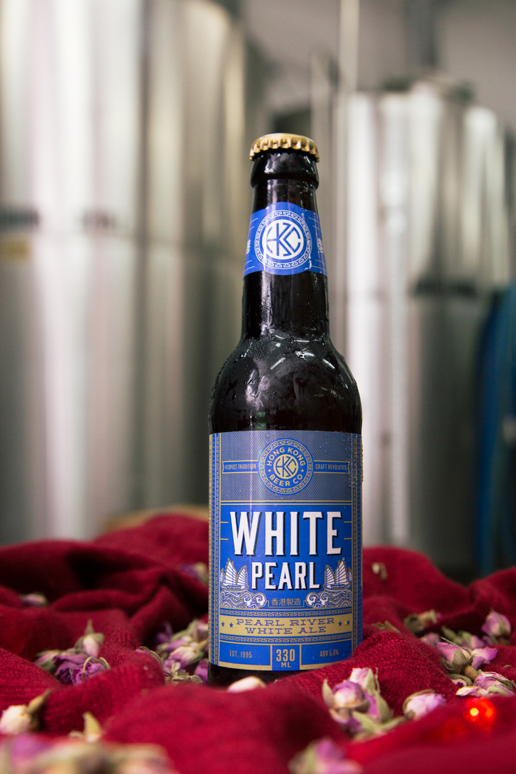 The White Pearl craft beer by Hong Kong Beer Co. • Photography by Tracy Wong