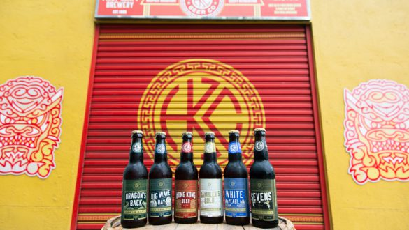 Hong Kong Beer Company • Food product photography by Tracy Wong