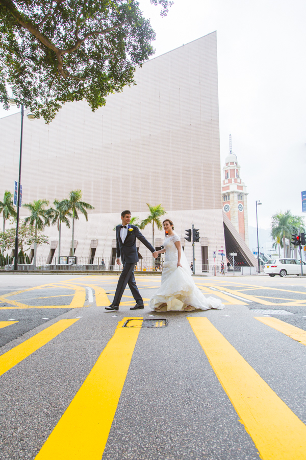 Wedding Photography in Tsim Sha Tsui, Hong Kong