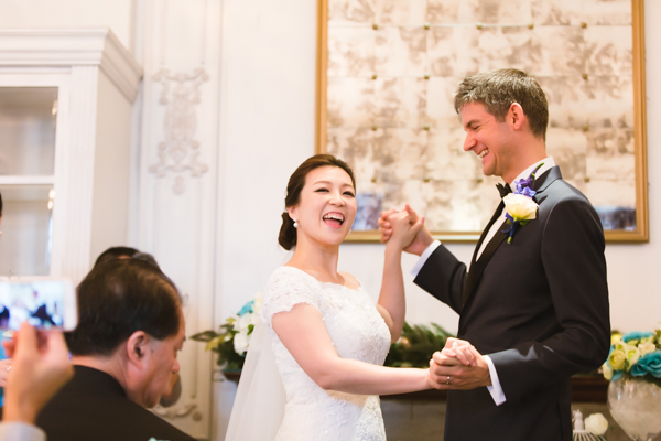 Candid happy moment | Hullett House Wedding | Tsim Sha Tsui, Hong Kong