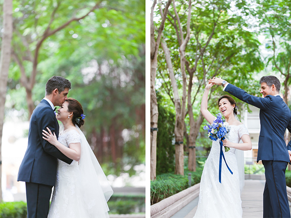 Romantic Wedding Photos in Tsim Sha Tsui, Hong Kong