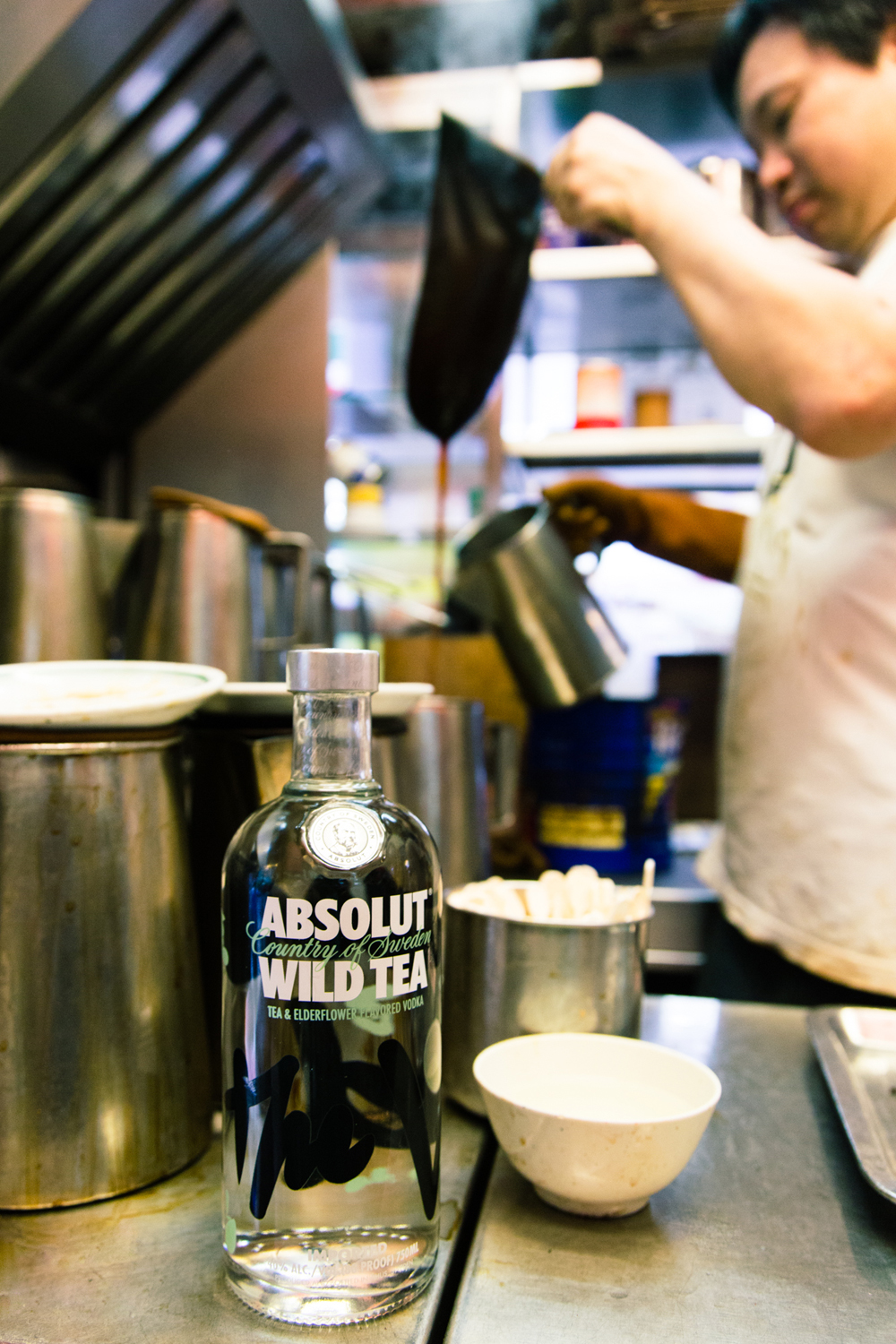 Absolut Wild Tea – Hong Kong Cha Chan Teng