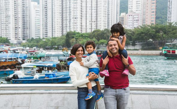 Ap Lei Chau family portrait photography