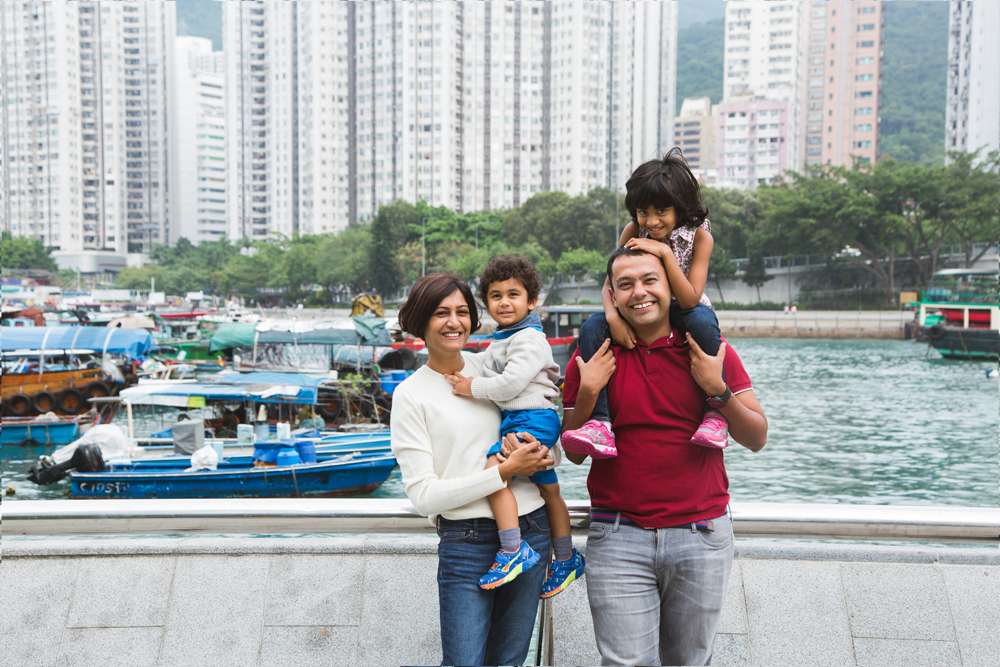 Ap Lei Chau family portrait photography