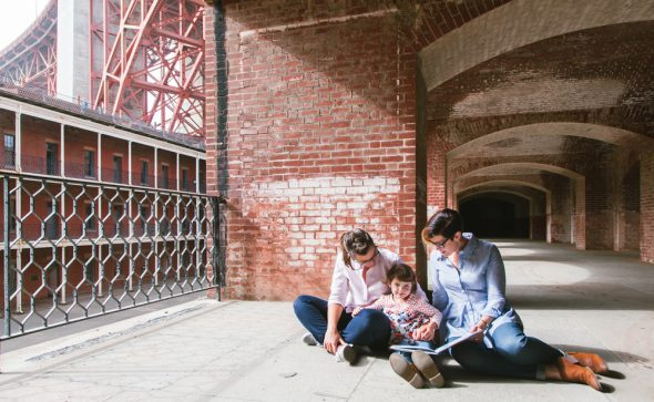 Family Portraits at Fort Point, San Francisco