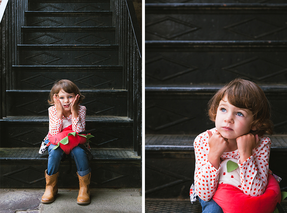 Adorable little Clementine – San Francisco portrait photography