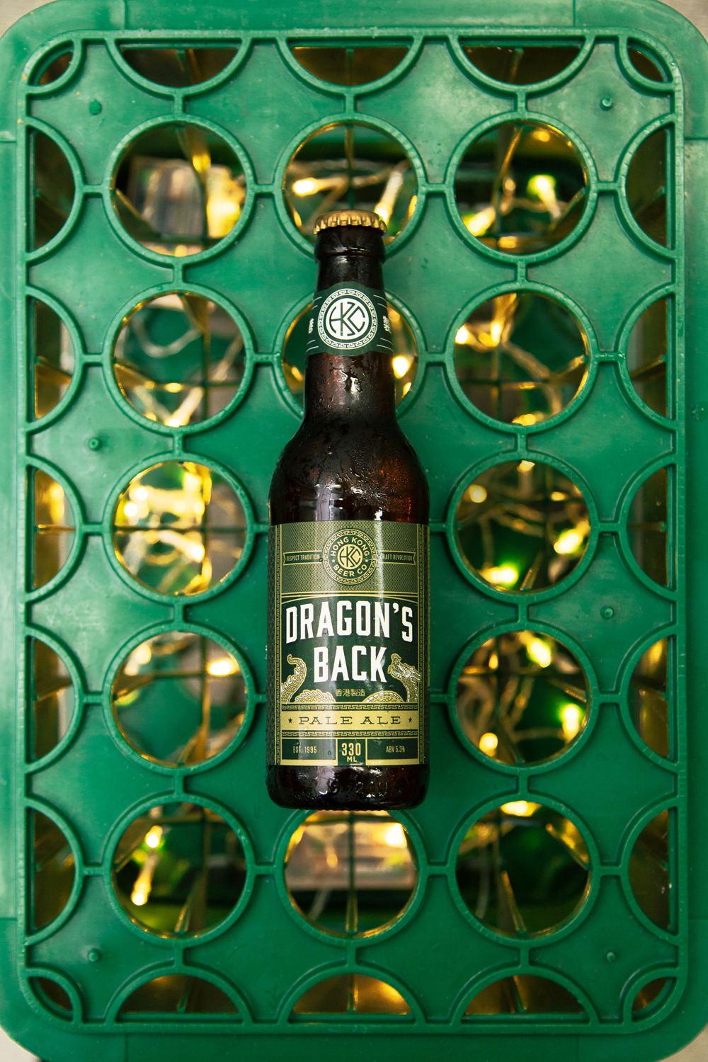 Dragon's Back Hong Kong beer –  Holiday beer campaign for HK Beer Co
