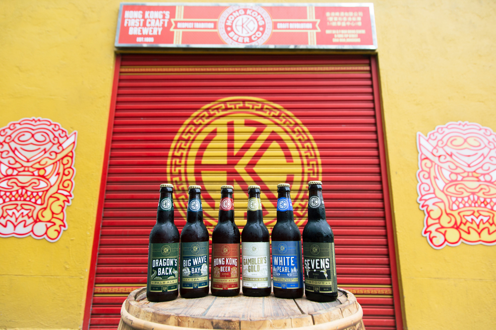 Hong Kong Beer Company – Product photography by Tracy Wong