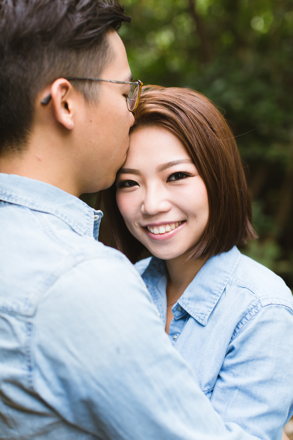 Sweet couple portrait • Hong Kong photographer