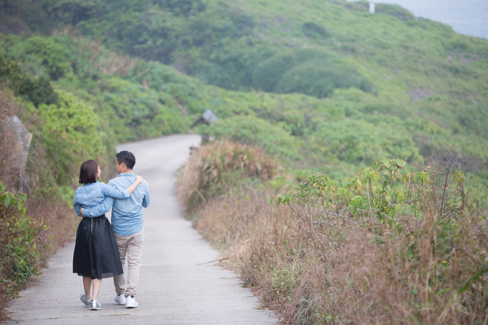 Cape D'Aguilar Pre Wedding 香港婚攝 鶴咀