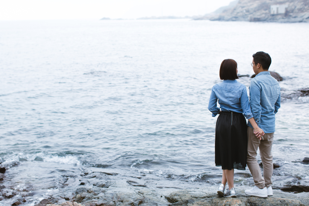 Engagement session at Cape D'Aguilar Hong Kong 香港婚攝 鶴咀