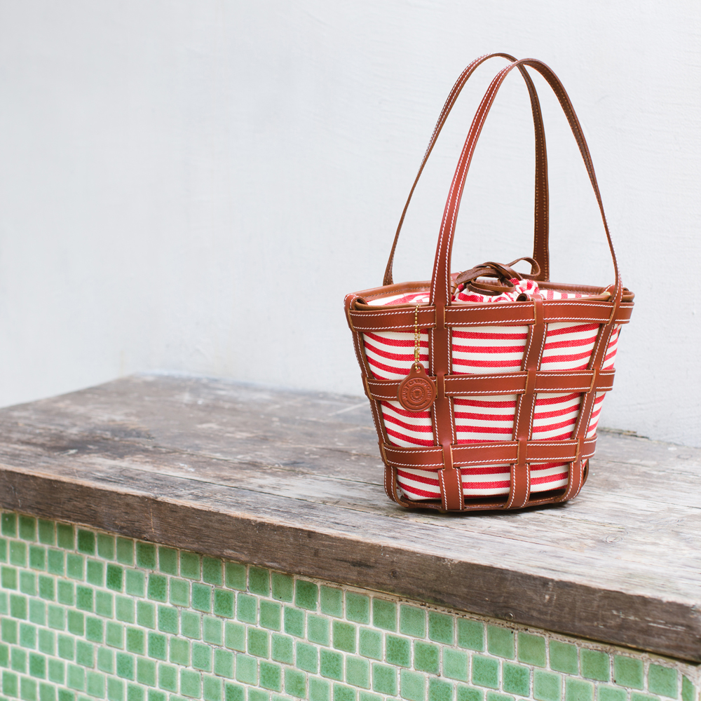 Just Campagne Panier basket bag – lifestyle photography
