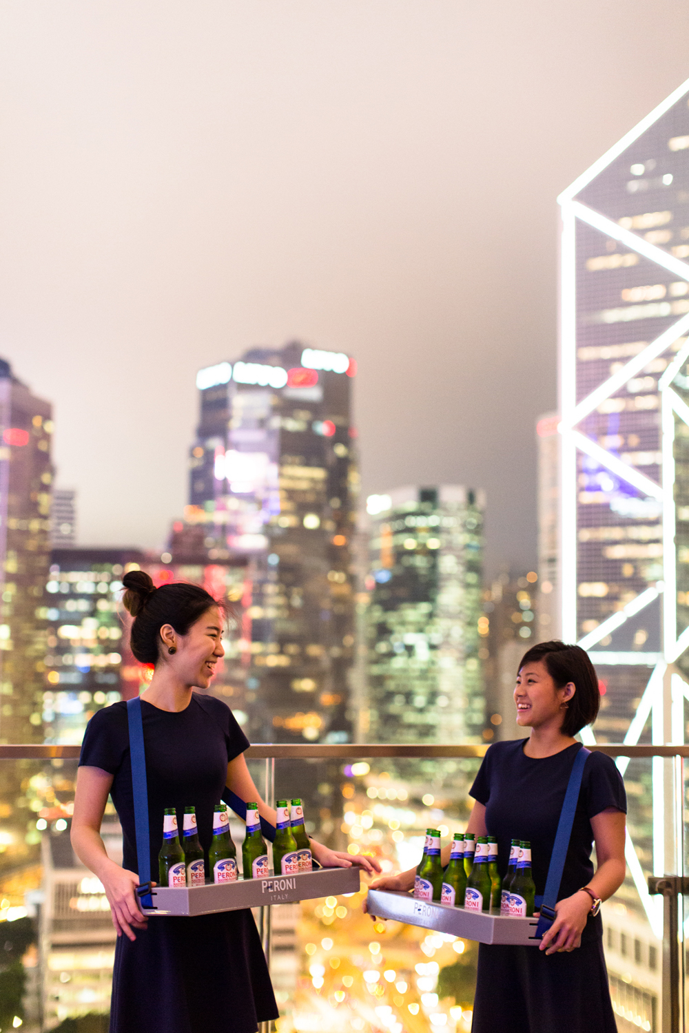 Peroni & Hong Kong City Skyline – event photography