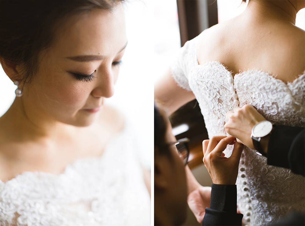 Wedding preparations • Hong Kong wedding photographer