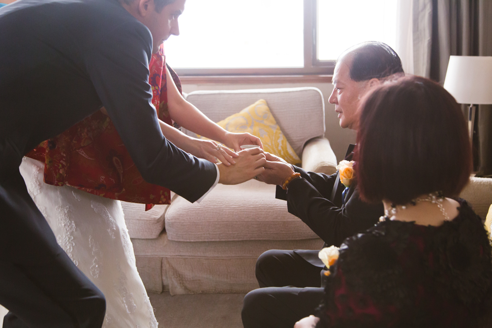 Tea ceremony – Chinese wedding Hong Kong