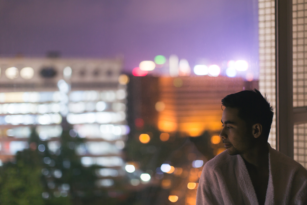 Beautiful bokeh – alone at a hotel room – Tracy Wong for Park Hotel