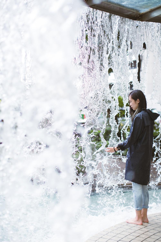 Elaine Li –Instagrammer / Photographer in Rains x Kapok campaign