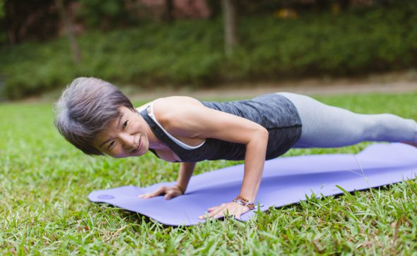 Amanda Yim – yoga teacher in Hong Kong for Lululemon