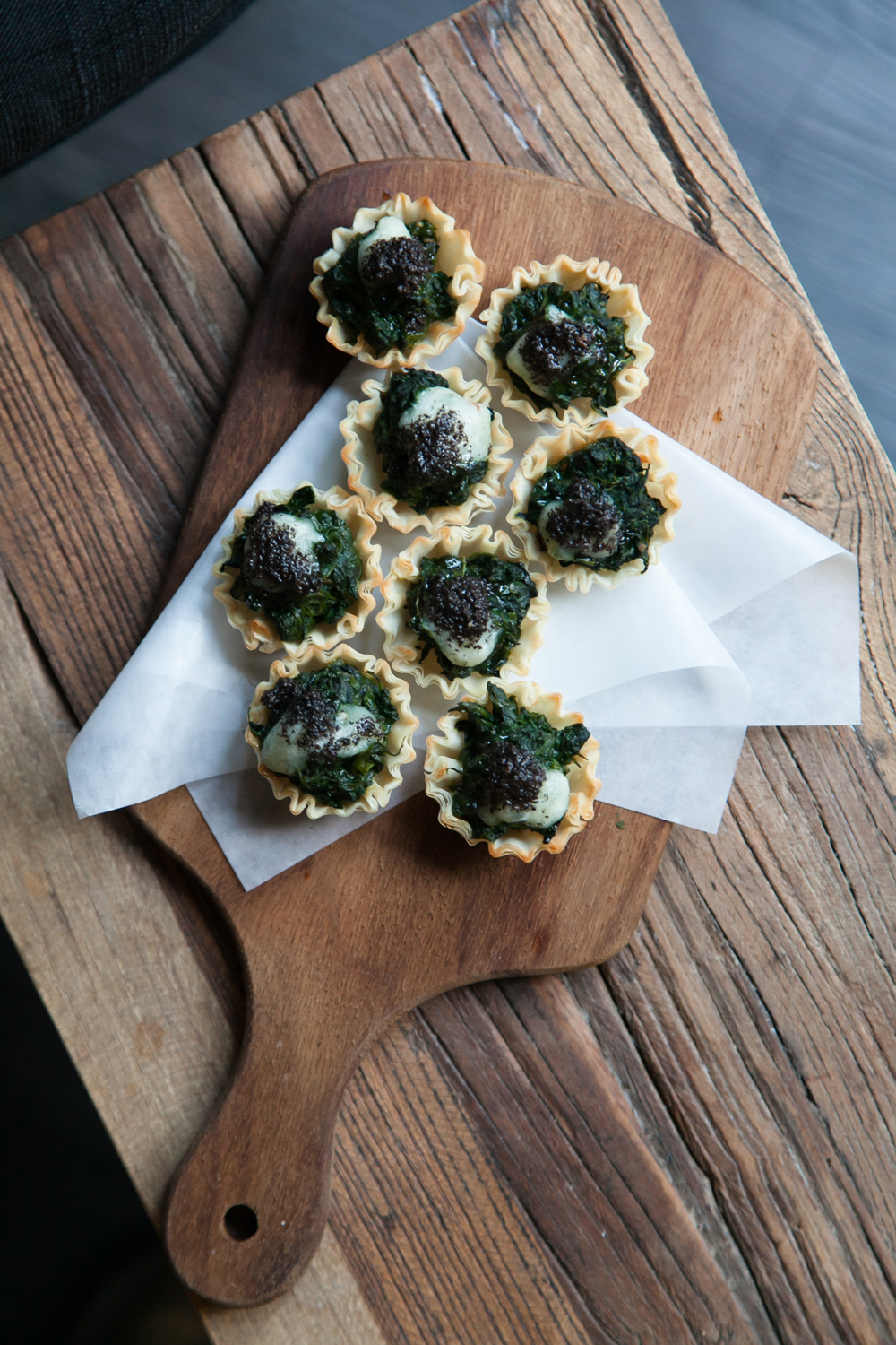 Hong Kong Restaurant and Bar Photographer // Canapés at Topiary