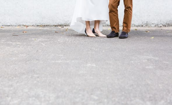 Minimal Engagement Photoshoot in Kennedy Town