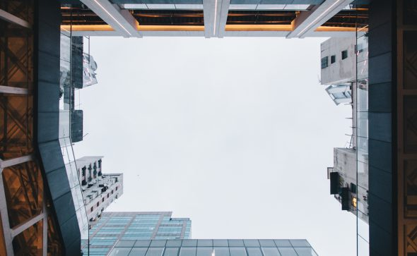 Hong Kong lookup – minimal architecture photography – Tracy Wong for Home Journal