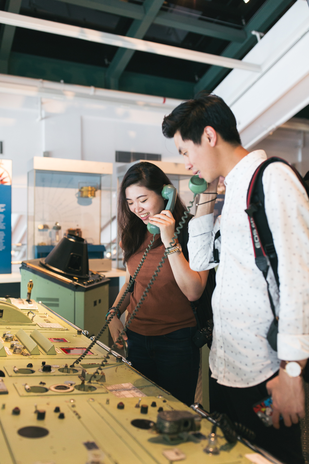 Fun times at Hong Kong Maritime Museum | influencer campaign for social media