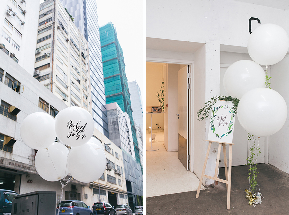 A modern wedding in an industrial building | Hong Kong Wong Chuk Hang district