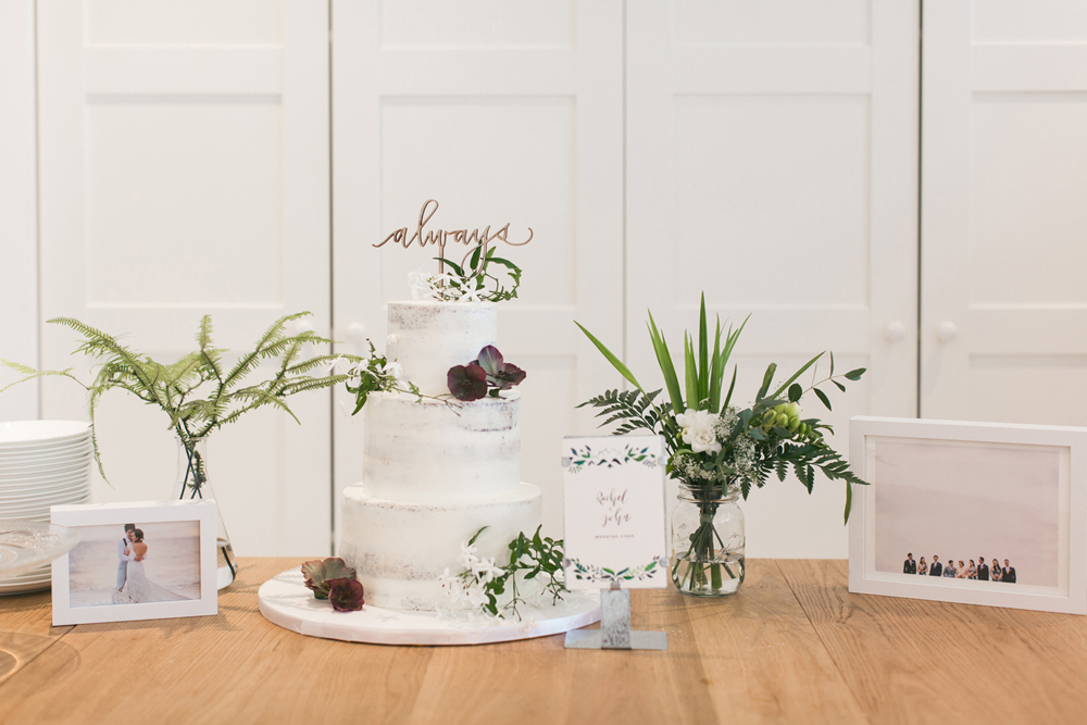 Wedding cake details | Tracy Wong Photography