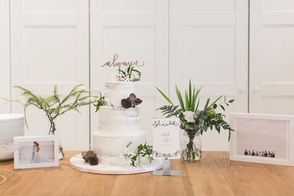 Wedding cake details | Tracy Wong Photography